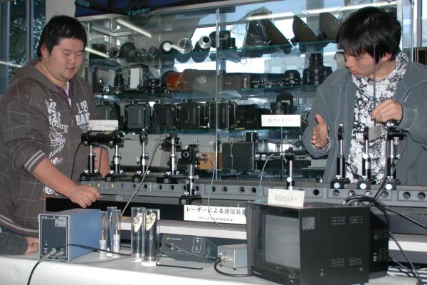 TV信号光通信システム