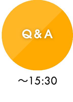 Q&A ~15:30