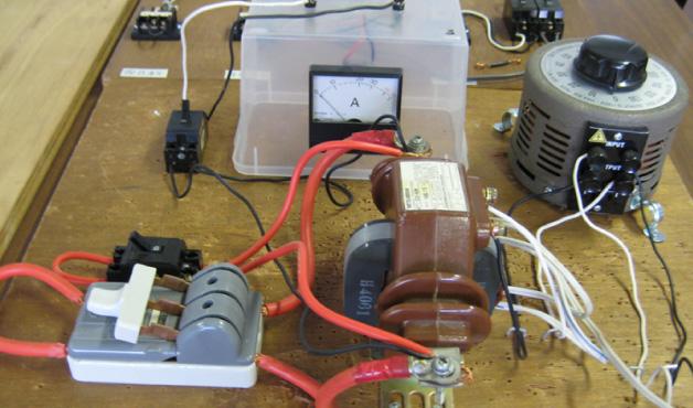 電気工事体験